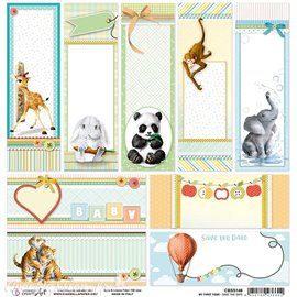 Feuille scrapbooking Ciao Bella Save the Date 30x30 double face