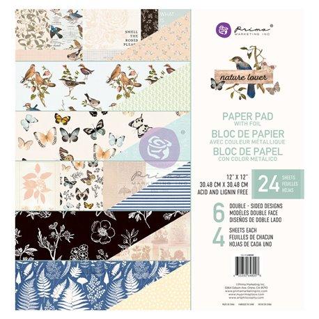 Papier Scrapbooking Nature Lover Collection 30x30cm assortiment