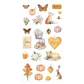 Puffy Stickers Autumn Sunset Collection