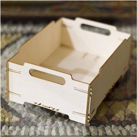 Boite bois 3D Wood 017 Stackable Box