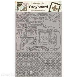 Chipboard carton Sleeping Beauty cadres Stamperia A4