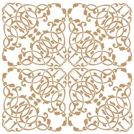 Pochoir décoratif Mya Home Decor tuile A 50x50cm - 48x48cm