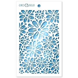 Pochoir scrapbooking Ciao Bella Blossom 12x20cm