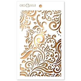 Pochoir scrapbooking Ciao Bella texture fleur 12x20cm