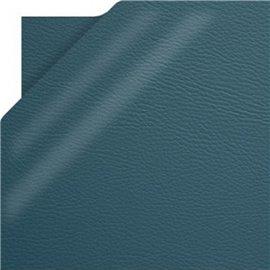 Papier simili cuir pellana bleu pétrole 50x70cm
