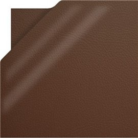 Papier simili cuir pellana marron 50x70cm