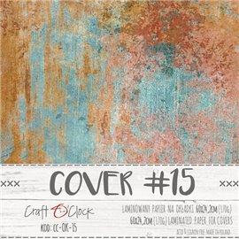 Couverture album scrapbooking Craft O Clock 15  60x24cm