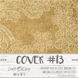 Couverture album scrapbooking Craft O Clock  13 60x24cm