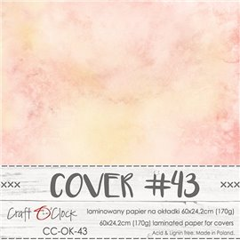 Couverture album scrapbooking Craft O Clock 43  60x24cm