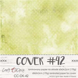 Couverture album scrapbooking Craft O Clock 42  60x24cm