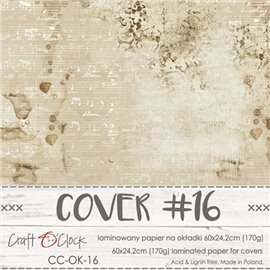 Couverture album scrapbooking Craft O Clock 16  60x24cm