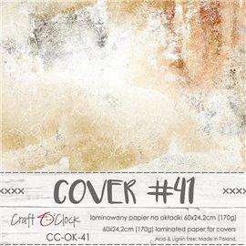 Couverture album scrapbooking Craft O Clock 41  60x24cm