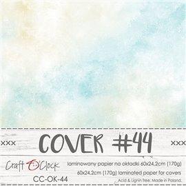Couverture album scrapbooking Craft O Clock 44  60x24cm