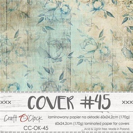 Couverture album scrapbooking Craft O Clock  45 60x24cm