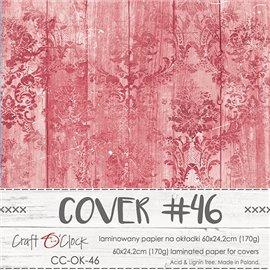 Couverture album scrapbooking Craft O Clock 46  60x24cm