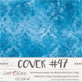 Couverture album scrapbooking Craft O Clock 47  60x24cm