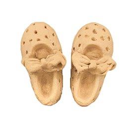 Moulure décorative 1 Paire de chaussures 4x8,2cm