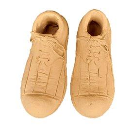 Moulure décorative 1 Paire de chaussures 6x13,8cm
