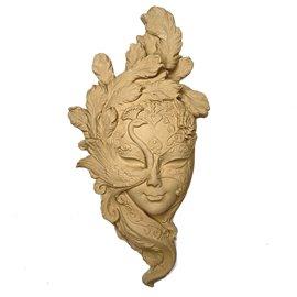 Moulure décorative 1 Masque 14x30cm