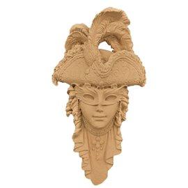 Moulure décorative 1 Masque 17x29cm