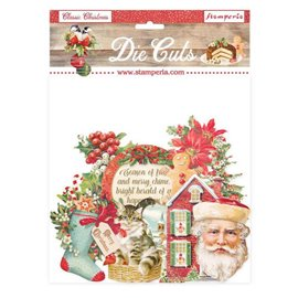 Die Cuts assortiment Classic Christmas Stamperia