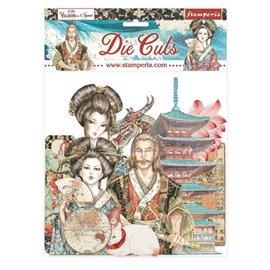 Die Cuts assortiment Sir Vagabond in Japan Stamperia