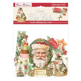 Die Cuts Clear Classic Christmas Stamperia