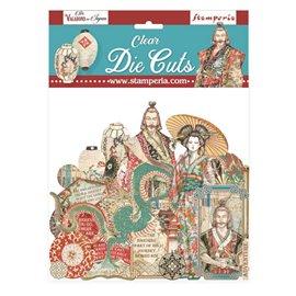 Die Cuts Clear Sir Vagabond in Japan coloured Stamperia