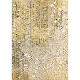 Papier de riz Texture Stamperia A4