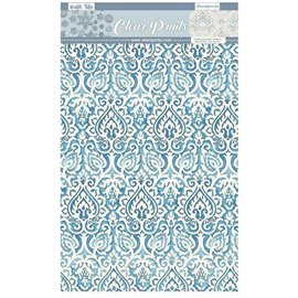 Papier scrapbooking acétate Winter Tales Stamperia 6fe A4