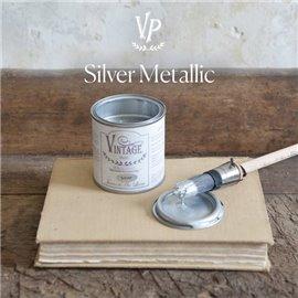 Peinture Vintage Paint métallique argent 200ml