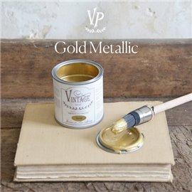 Peinture Vintage Paint métallique doré or dorure 200ml