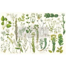 Papier de Murier Mulberry Decoupage Decor Tissue Paper Greenery Redesign 48x76cm