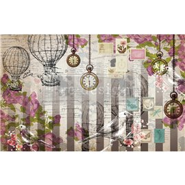 Papier de Murier Mulberry Decoupage Decor Tissue Paper Love Letters Redesign 48x76cm