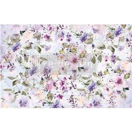Papier de Murier Mulberry Decoupage Decor Tissue Paper Amethyst Dance Redesign 48x76cm