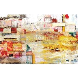 Papier de Murier Mulberry Decoupage Decor Tissue Paper Amber Euphoria Redesign 48x76cm