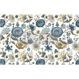 Papier de Murier Mulberry Decoupage Decor Tissue Paper Garden Waltz Redesign 48x76cm