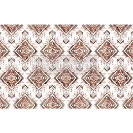 Papier de Murier Mulberry Decoupage Decor Tissue Paper Linear Splendor Redesign 48x76cm