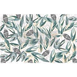 Papier de Murier Mulberry Decoupage Decor Tissue Paper Radiant Eucalyptus Redesign 48x76cm