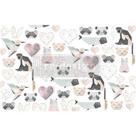 Papier de Murier Mulberry Decoupage Decor Tissue Paper Origami Love Redesign 48x76cm