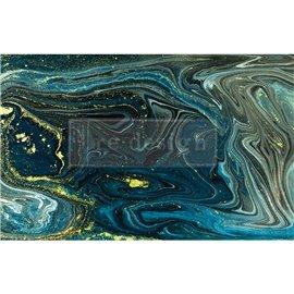 Papier de Murier Mulberry Decoupage Decor Tissue Paper Nocturnal Marble Redesign 48x76cm