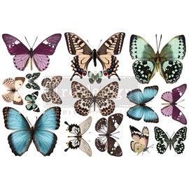 Transfert pelliculable Redesign Butterfly 15x30cm