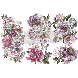 Transfert pelliculable Redesign Dreamy Florals 15x30cm
