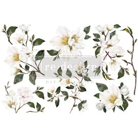 Transfert pelliculable Redesign White Magnolia 15x30cm