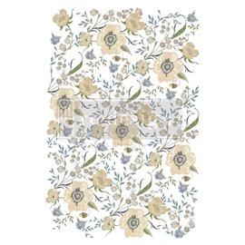Transfert pelliculable Redesign Goldenrod Florals 61x89cm