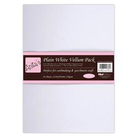 Papier parchemin blanc A4 10fe Anita's 150gr/m2
