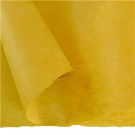 Papier népalais lokta lamaLi jaune