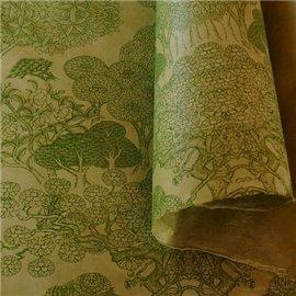 Papier népalais lokta Kongpo lamaLi vert sauge