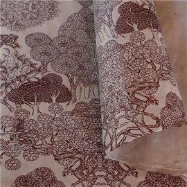 Papier népalais lokta Kongpo lamaLi taupe
