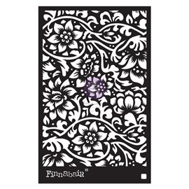 Pochoir décoratif Finnabair Bindweed Wallpaper 15X22cm 0.8mm